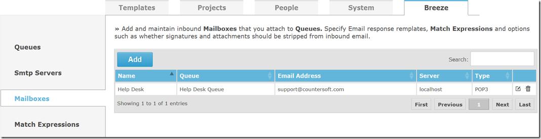 Breeze Mailboxes