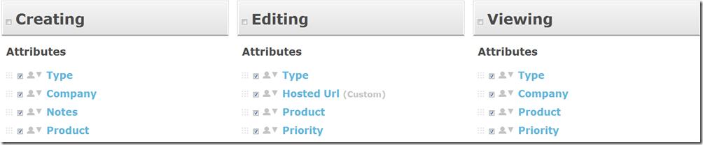 Customize Screens