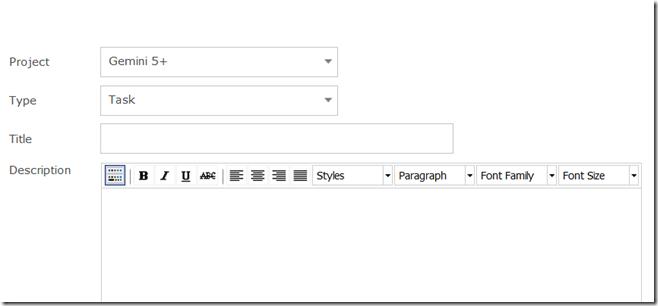 Type Task